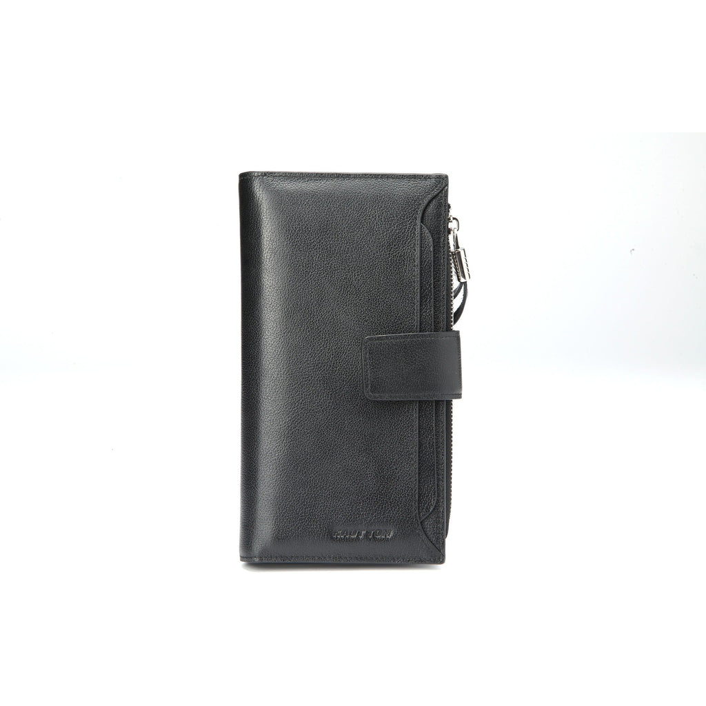 Hautton Men's Leather Clutch Wallet-Equestrian Co.