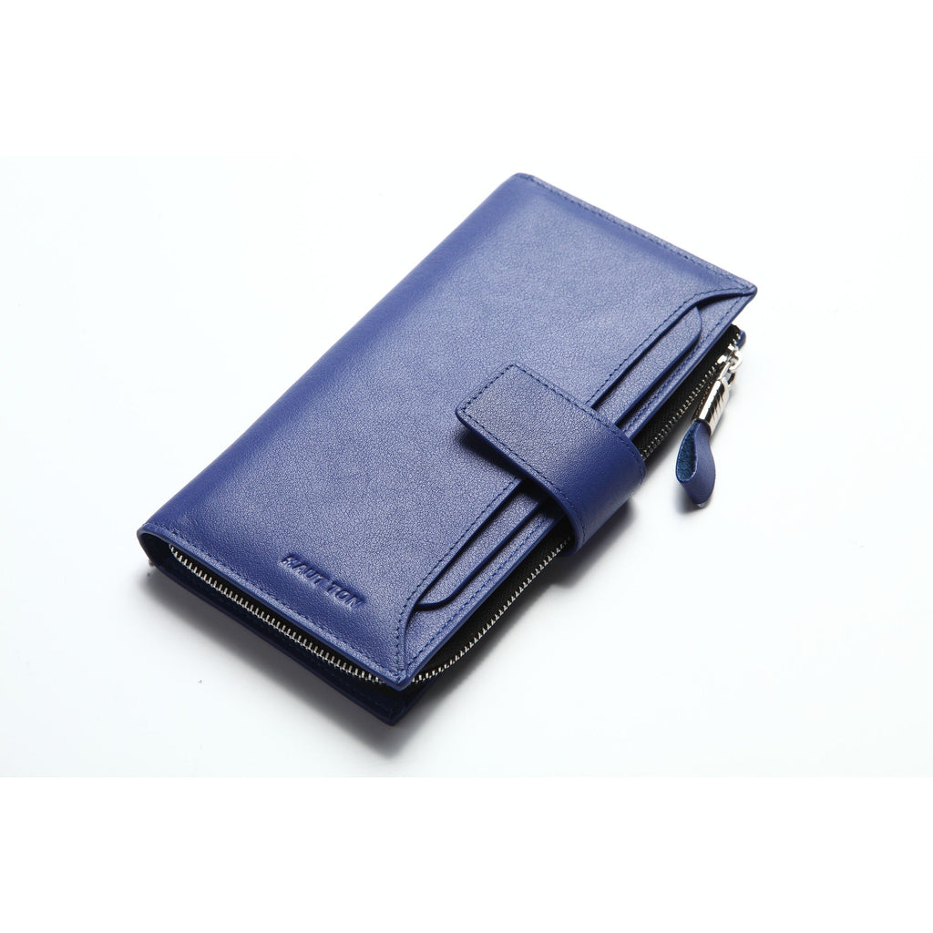 Hautton Men's Leather Clutch Wallet