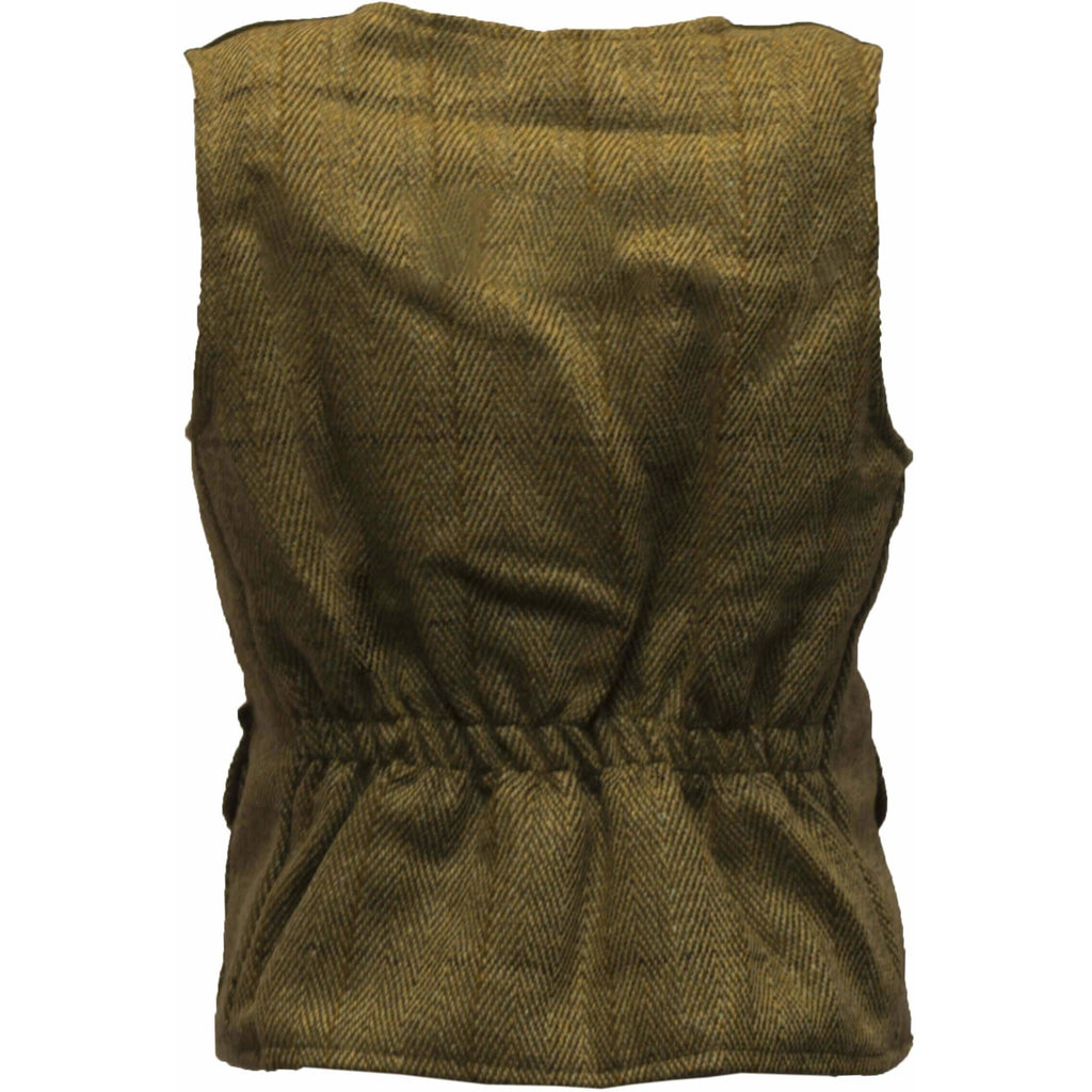 Walker & Hawkes Light Sage Baby/Toddler Tweed Waistcoat/Gilet/Vest-Equestrian Co.