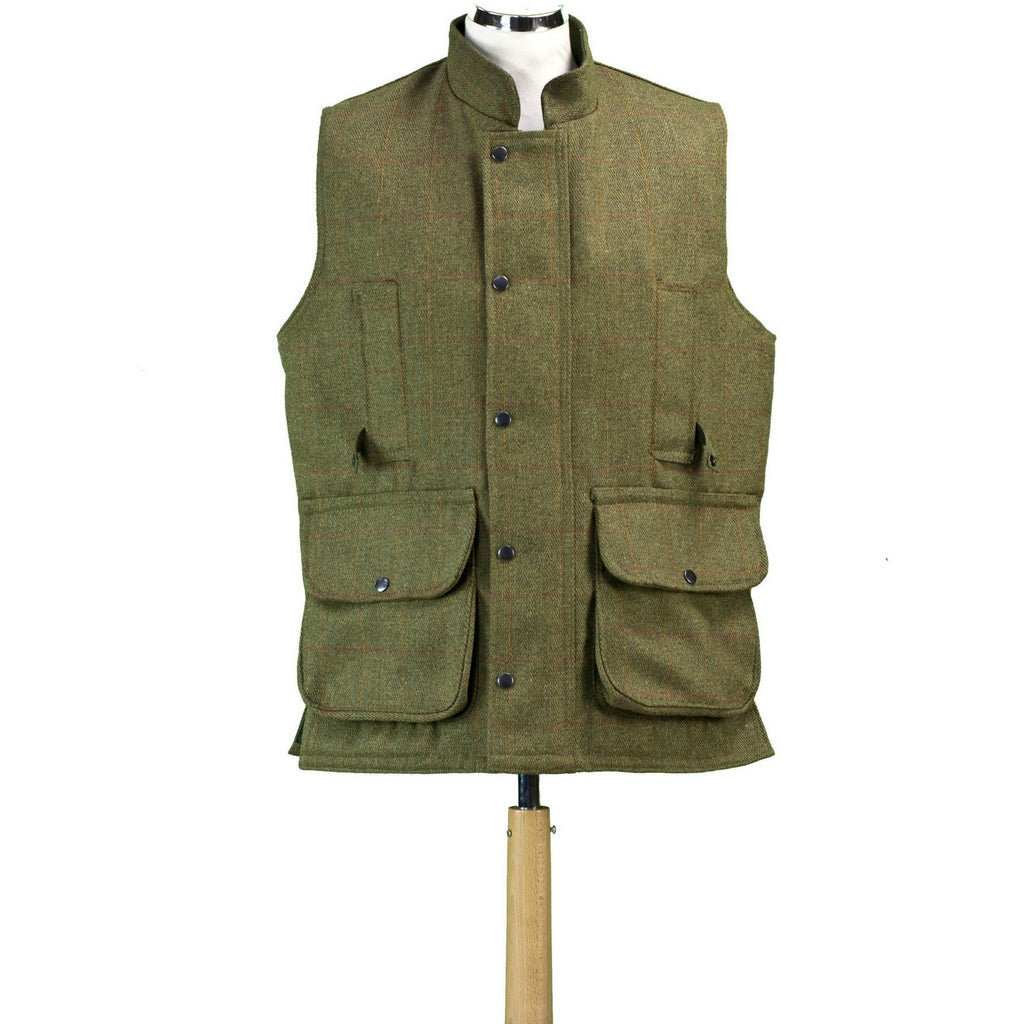 Hunter Outdoor British Lifestyle Men's Shooting Tweed Gilet/Waistcoat-Equestrian Co.