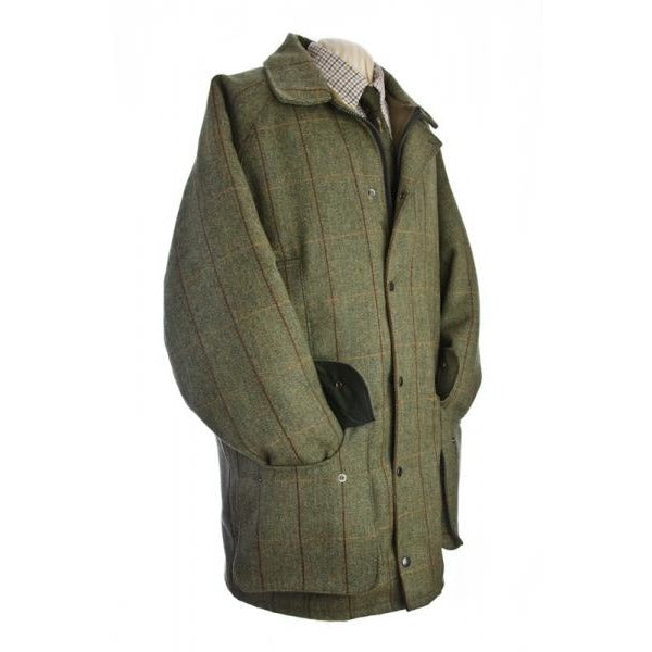 Beaver Men's Waterproof Green Tweed Country Coat-Equestrian Co.