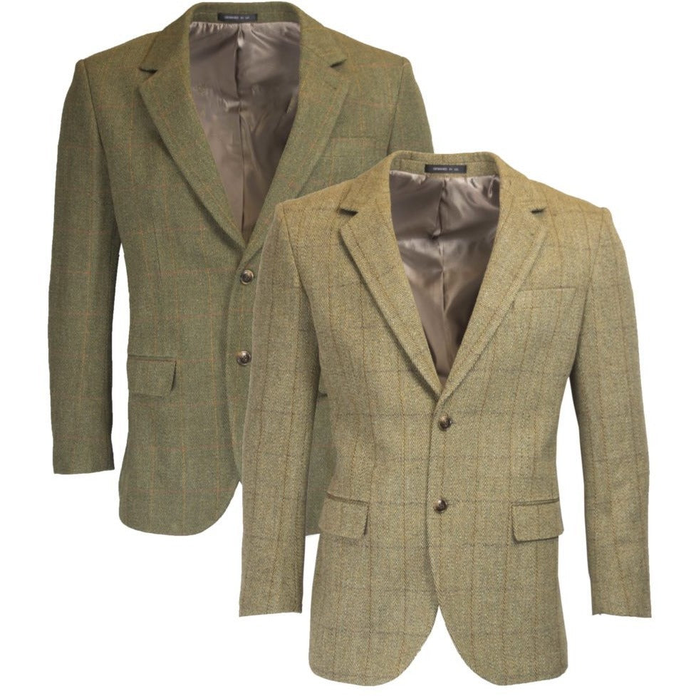 Walker & Hawkes Windsor Light Sage Tweed Country Blazer / Jacket-Equestrian Co.