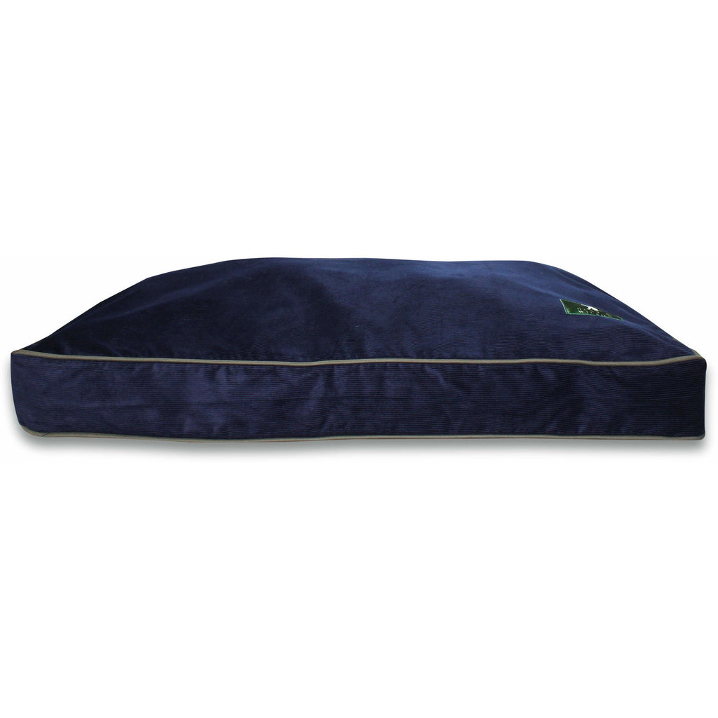 Hunt & Wilson Luxury Personalised Corduroy Cushion Dog Bed-Equestrian Co.