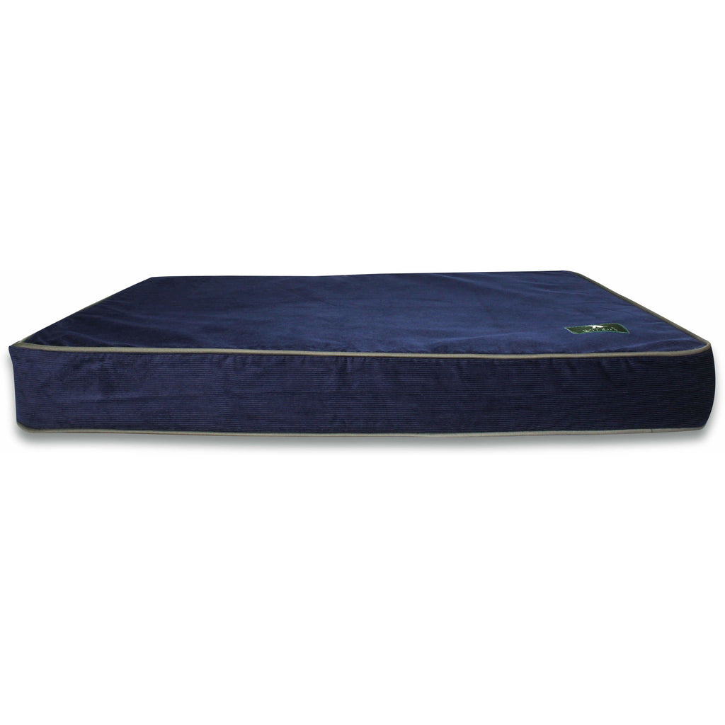 Hunt & Wilson Corduroy Luxury Memory Foam Dog Bed / Mattress-Equestrian Co.