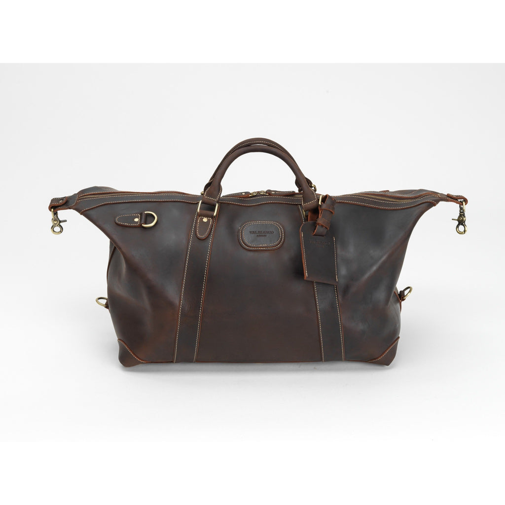 Val Blanco The Alexander Leather Holdall / Weekend Bag / Cabin Bag