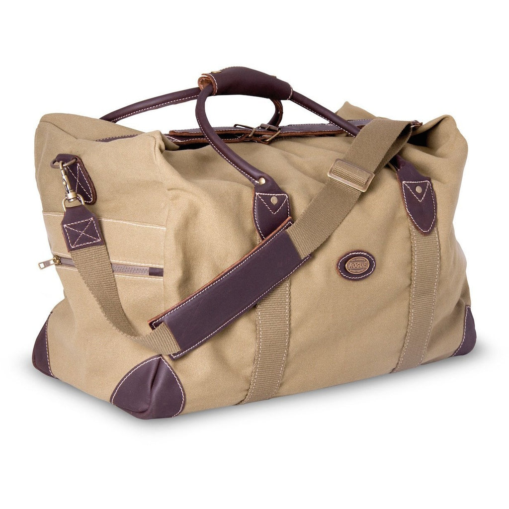 Rogue Weekender / Overnight Canvas Bag Sand - Equestrian Co.