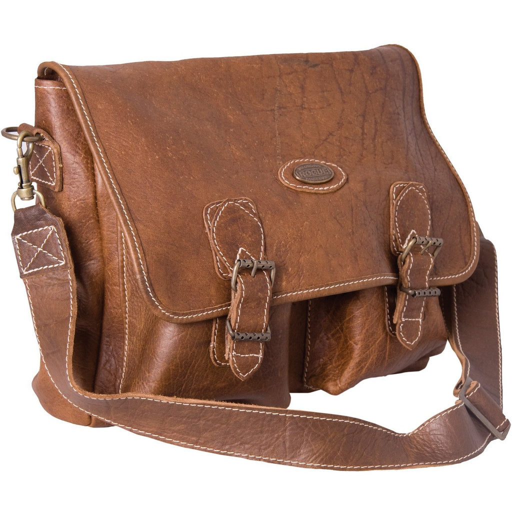 Rogue African Buffalo Leather Sling Bag-Equestrian Co.