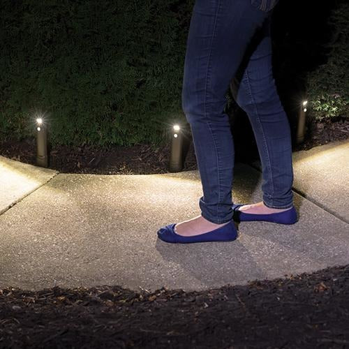 Mr Beams Compact Battery Powered Path Lights (2 Pack)