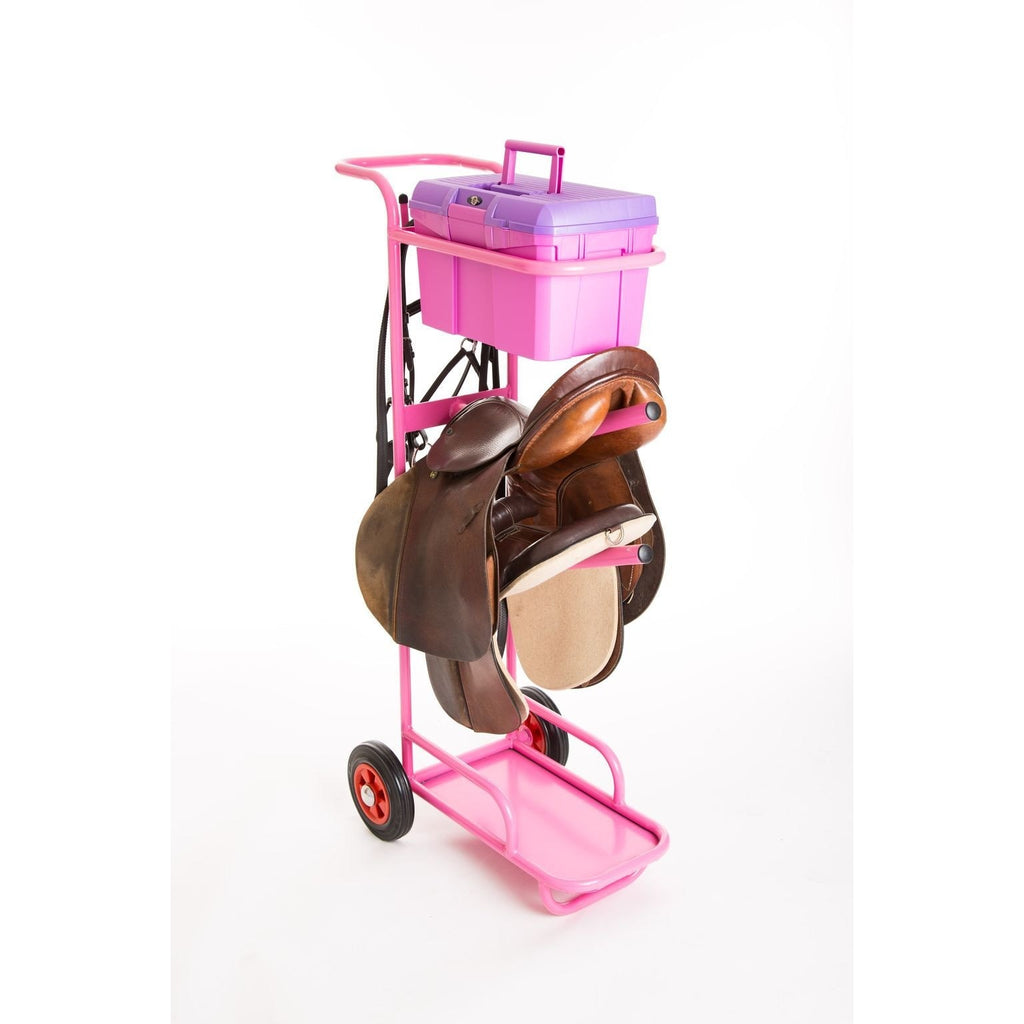 Fyna Lite Heavy Duty Tack Trolley with Grooming Box-Equestrian Co.