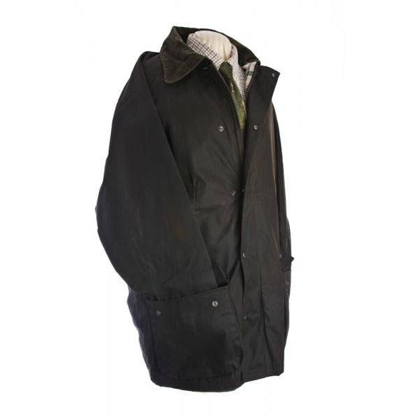 Beaver Men's Heavy Weight Waxed Cotton Shooting Coat / Jacket-Equestrian Co.