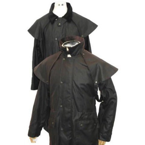 Hunter Outdoor Aussie Duster Long Unisex Wax Coat-Equestrian Co.