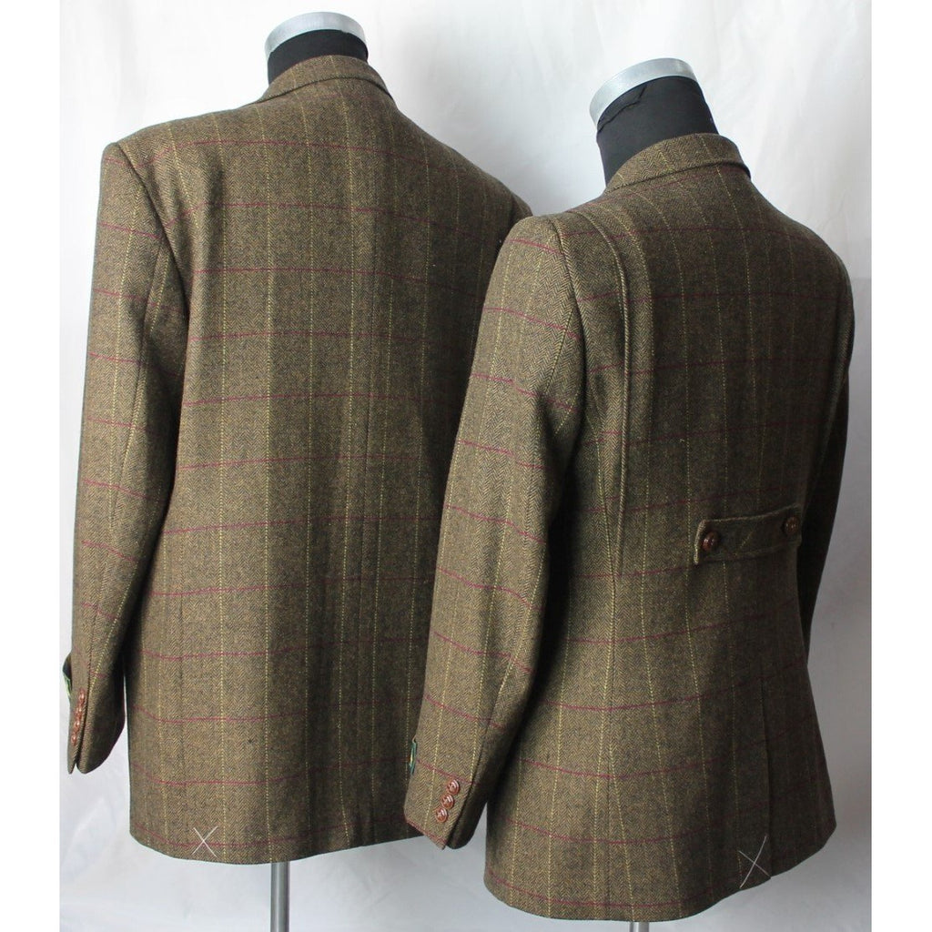 Hunter Outdoor Men's Bark Classic Tweed Tailored Jacket / Blazer-Equestrian Co.
