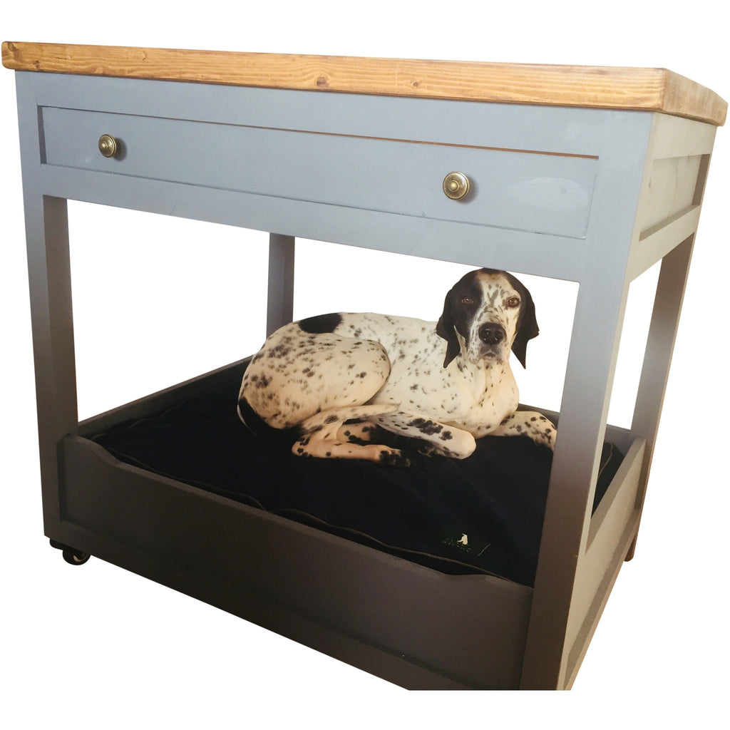 Luxurious Handmade Wooden Kitchen Unit Dog Bed