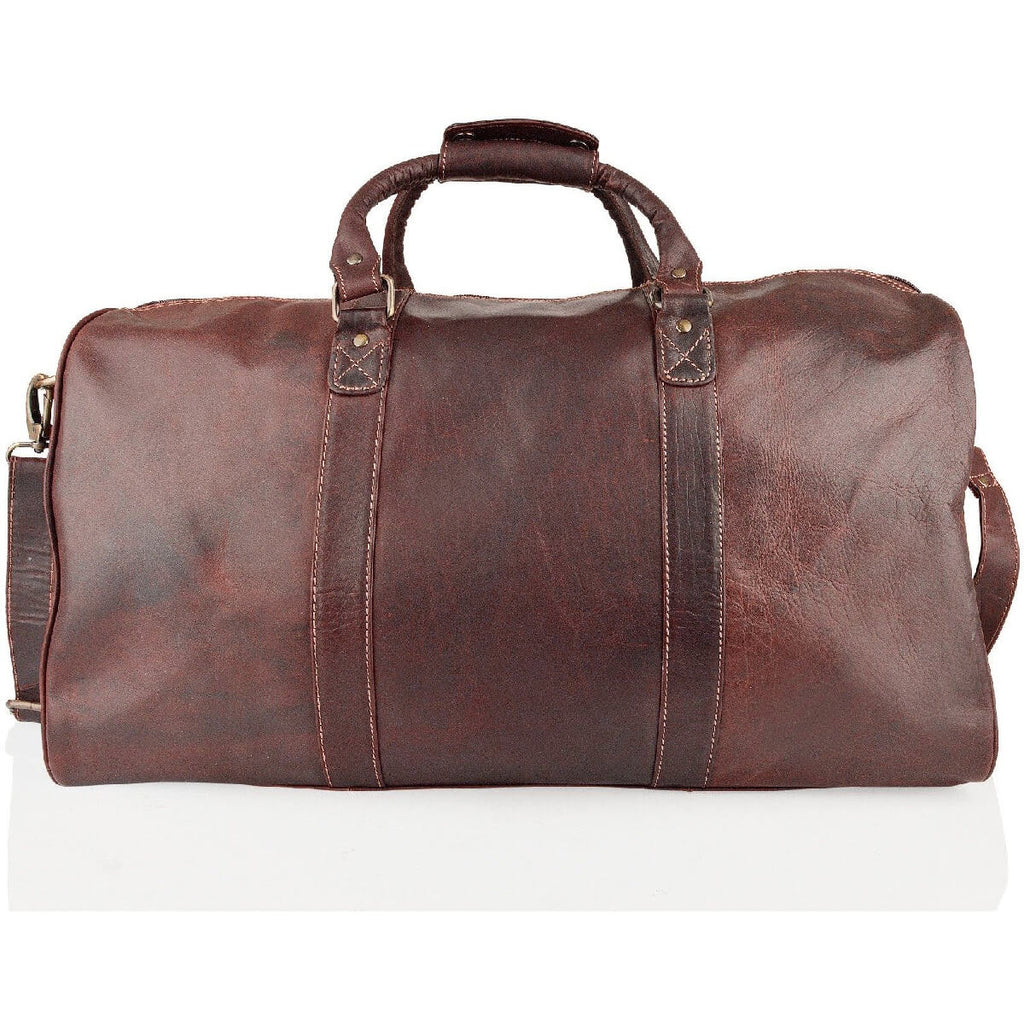Woodland Leather Burnish Buffalo Leather Holdall
