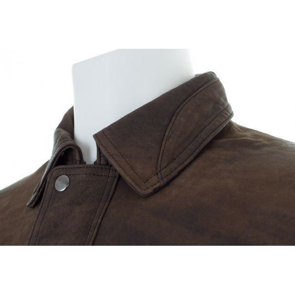 Woodland Leathers Men's Antique Look Bomber Jacket - Equestrian Co. - 3
