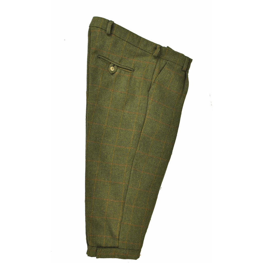 Hunter Outdoor Men's Shooting Tweed Breeks - Dark Olive-Equestrian Co.