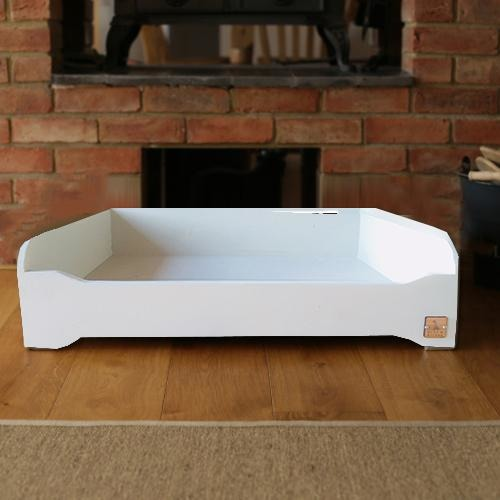 Hunt & Wilson Luxury Handmade Painted Wooden Dog Bed