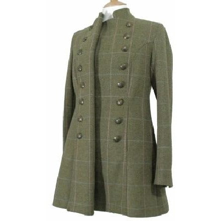 Beaver of Bolton Bespoke Handmade Ladies' British Wool Tweed Pirate Coat-Equestrian Co.