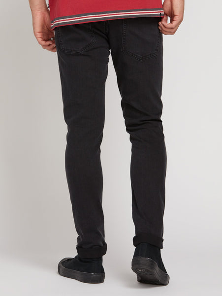 2x4 Tapered Jeans Ink Black