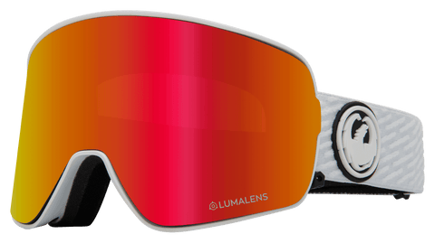 NFX2 - PK White with Lumalens Red Ionized + Lumalens Pink Ionized Lens