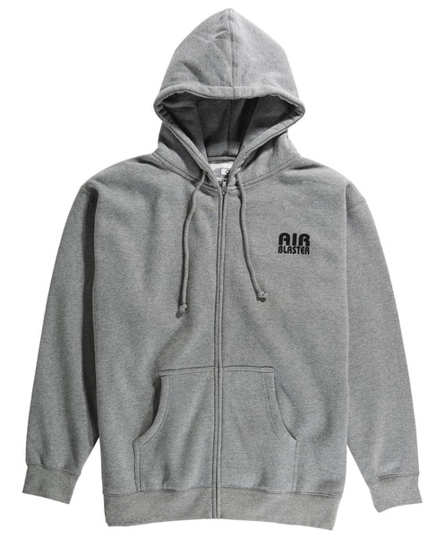 Team Zip Hoodie Heather