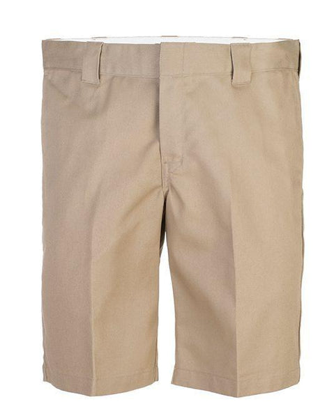 Slim Straight Shorts Khaki