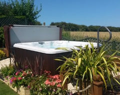 Hot Tub Installation for Mr Agus, Filey