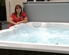 Hot Tub Installation for Carol Sutton