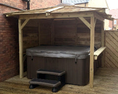 Hot Tub Installation for the Hollands, Welton