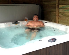 Hot Tub Installation for Mr & Mrs Kemp, Swanland