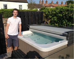 Hot Tub Installation for Ryan Lake, Welton