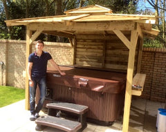 Hot Tub Installation for Luke Campbell