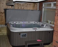 Hot Tub Installation for Mr Adams in Barton Upon Humber