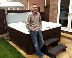 Hot Tub Installation for Mr Beverage