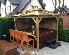 Hot Tub Installation for Mr & Mrs Mason in Hull