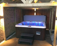 Hot Tub Installation for Mr & Mrs Pinkney in Brough