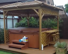 Hot Tub Installation for Mr Pallender in Hedon