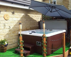 Hot Tub Installation for Mr Sheldon in Sheffield