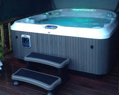 Hot Tub Installation for Mr Simms in Bradford