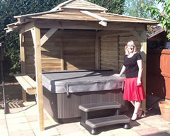 Hot Tub Installation for Mrs Evans in Goole