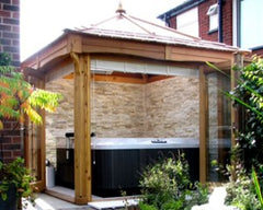 Hot Tub Installation for Paul and Andy, Manchester