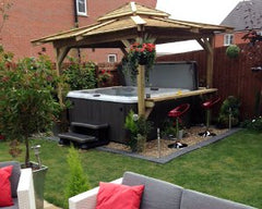 Hot Tub Installation for Paul and Ben, Grimsby