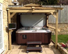 Hot Tub Installation for Mr Pearson, Wetherby