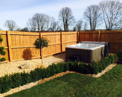 Hot Tub Installation for Redrow Homes