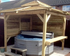 Hot Tub Installation for Sarah and Thomas Roundhill, Hull