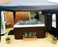 Hot Tub Installation for Mr & Mrs Sherwood, Newport