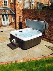 Hot Tub Installation for the Shillingfords, York