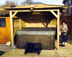 Hot Tub Installation for the Symons, Hull