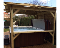 Hot Tub Installation for Sharon Young, Hull