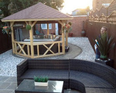 Hot Tub Installation for Tony and Sue Brooks of Hull